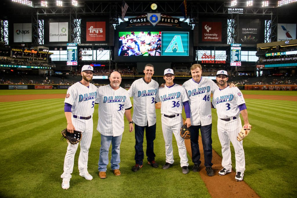 c53a24bf9 D-backs Celebrate 20th Anniversary while Engaging Fans with retro jerseys  and media